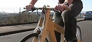 Ironwood wooden bicycle frame video-1